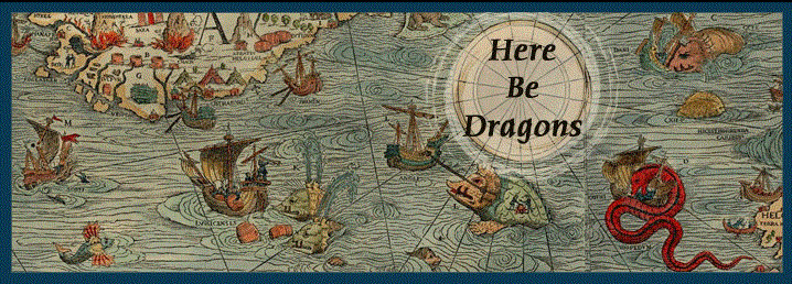 """""""Here Be Dragons""""  Overcoming Fear and Overwhelm"""